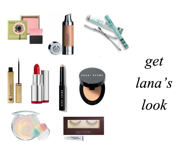 Get The Makeup Look of Lana Turner