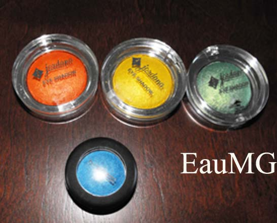Jordana Color Effects Bright Eyeshadow Review