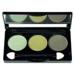 NYX Green Trio Eyeshadow