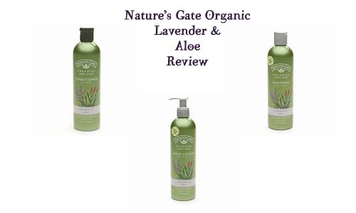 Natutre's Gate Organics Lavender and Aloe Review