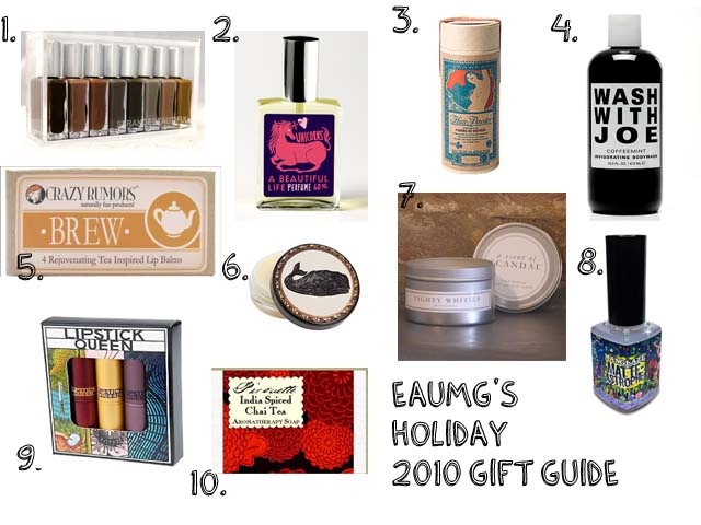 Holiday 2010 Indie Cosmetic & Fragrance Guide