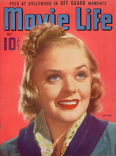 1930's Fashion Get the makeup Look of Alice Faye