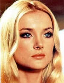 1970's makeup look of Barbara Bouchet