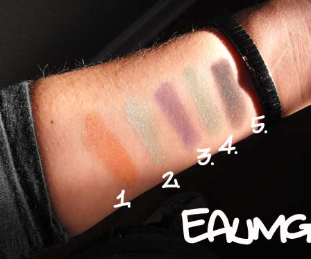 High Voltage Shimmer Eyeshadow Swatches & Review