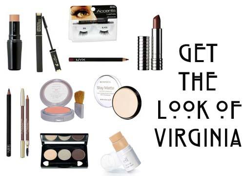Get the 1940's Makeup Look of Virginia Mayo