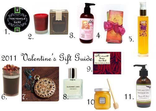 EauMG's 2011 Valentine's Day Gift Guide