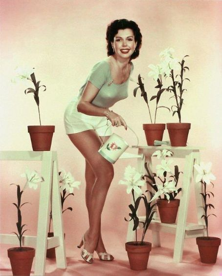 1950's spring pin-up pic of Ann Miller