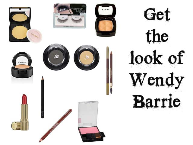 Makeup tutorial to get the 1930's makeup of Wendy Barrie