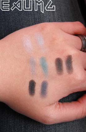 Wet n Wild Eyeshadow Collection Blue