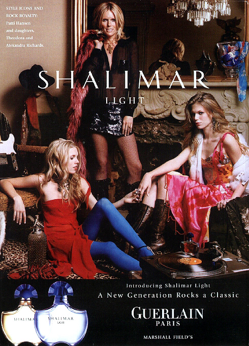 Shalimar Light ad