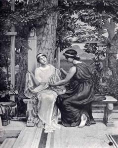 Edward John Poynter Helena & Hermia