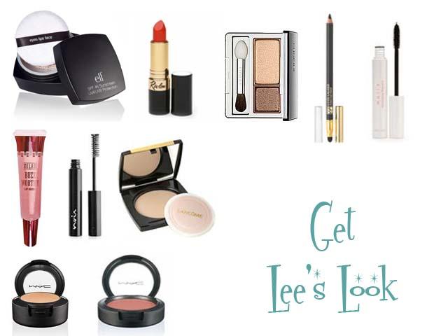 Makeup look of Lee Rimmick