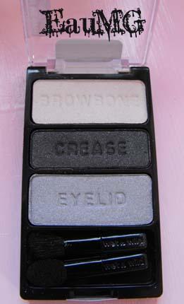 Wet n Wild Silver Eyeshadow Trio