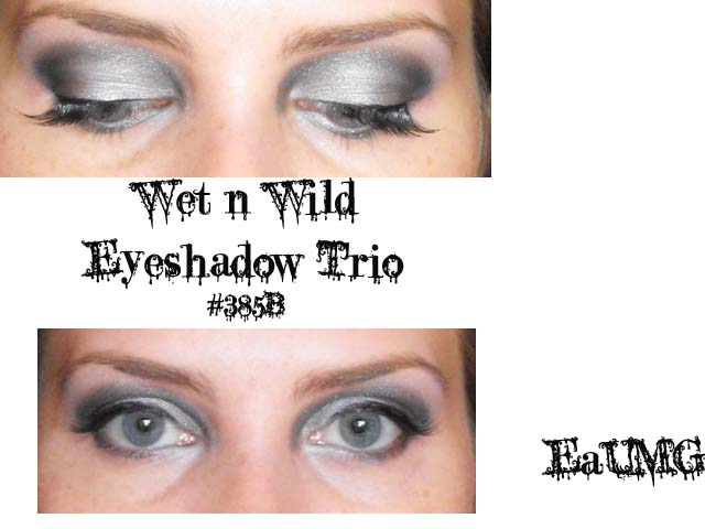 Wet n Wild Don't Steal my Thunder Eyeshadow Look