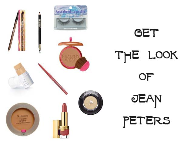 Makeup instruction to get the look of Jean Peters