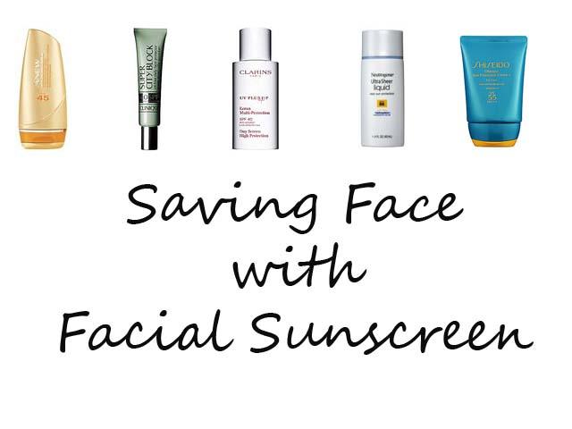 Facial Sunscreens
