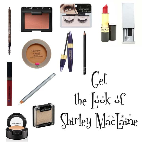 Shirley MacClaine Makeup Look