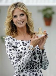 Heidi Klum Shine Hollywood launch
