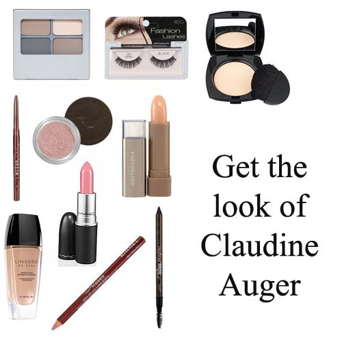 Get the makeup look of Claudine Auger