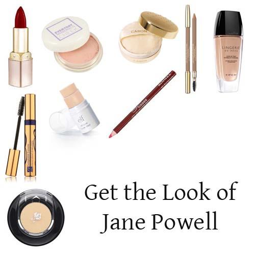 Jane Powell makeup