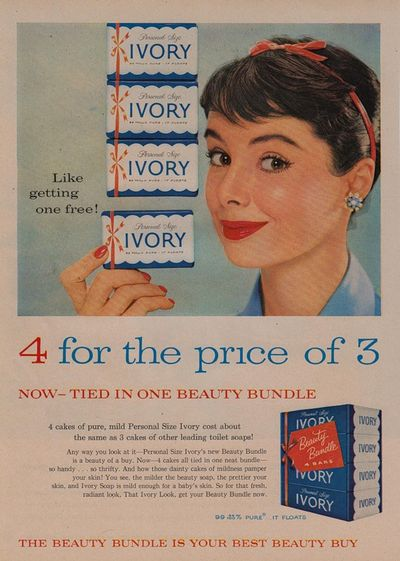 vintage Ivory Soap ad
