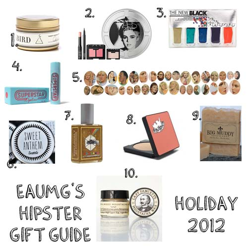 Hipster Gift Guide 2012