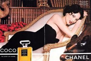 Chanel Coco ad