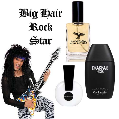 Big Hair Rocker Halloween