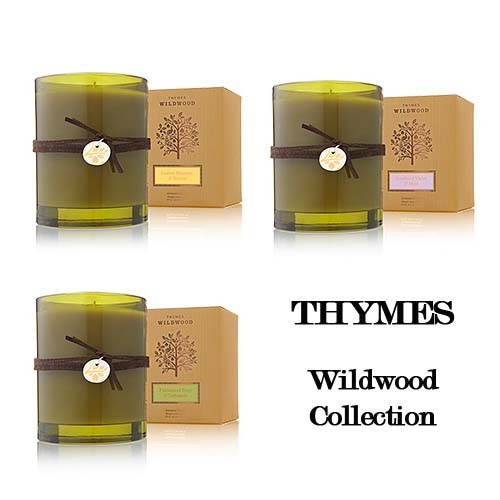 Thymes Wildwood Candles