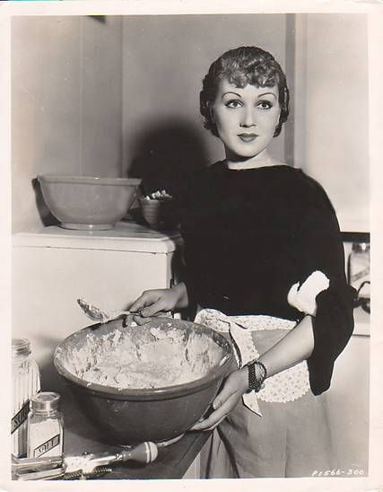 Grace Bradley cooking