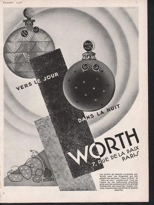 Worth 1928 ad