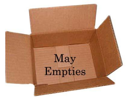 May 2014 Empties