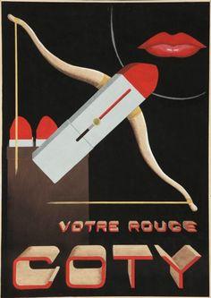 1930's Coty ad