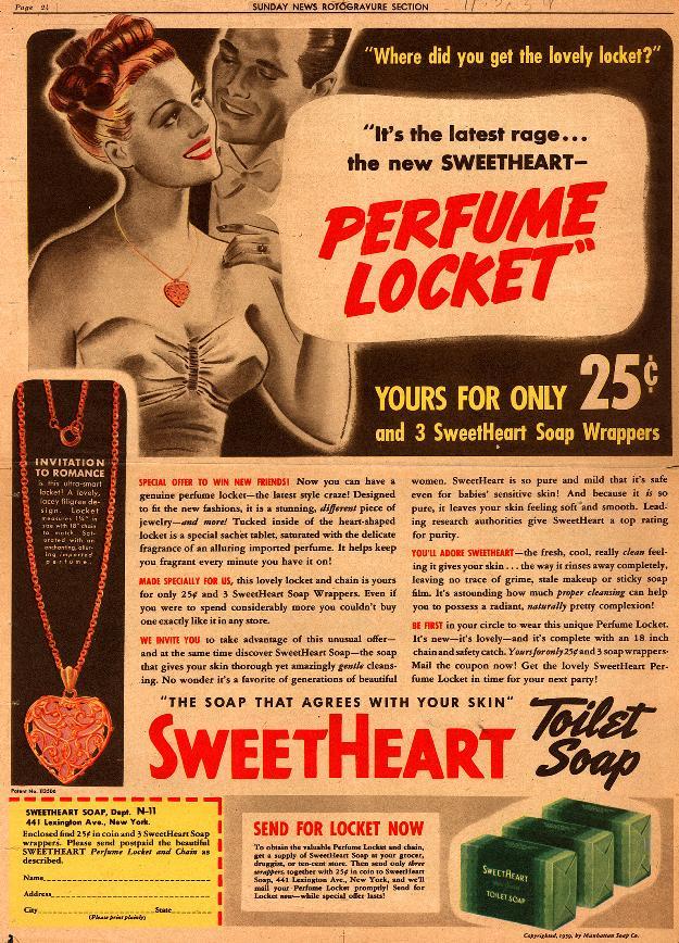 1939 perfume ad