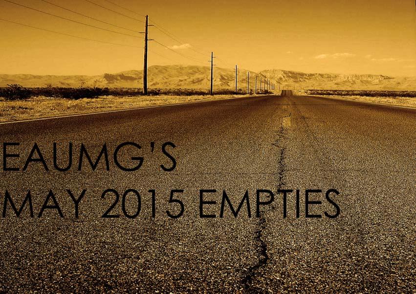 May 2015 Empties