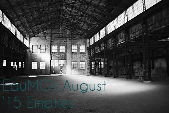 August 2015 Empties
