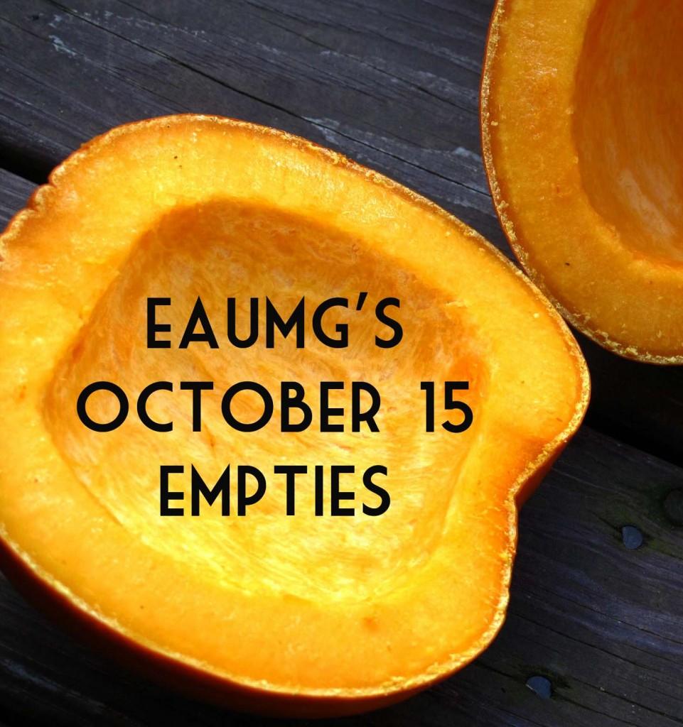EauMG's October '15 Empties