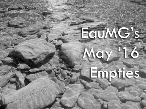 EauMG's May 2016 Empties