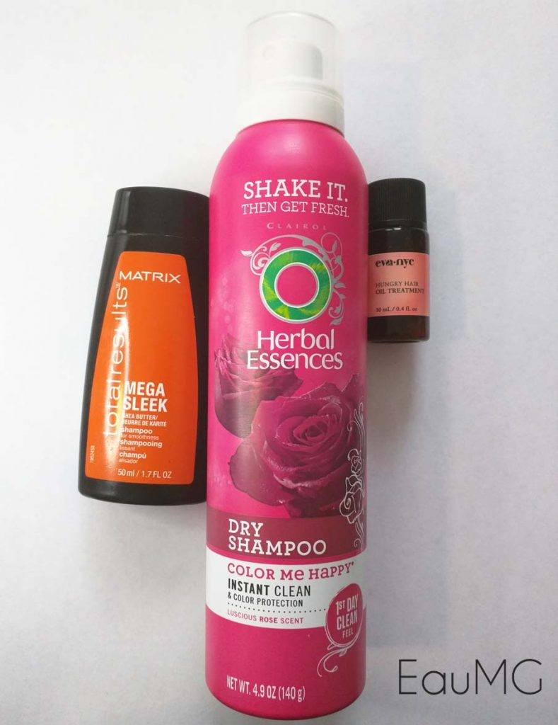 January 2017 Hair Empties