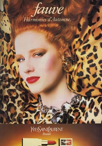 YSL 90's Makeup Ad