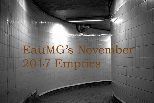 EauMG's November 2017 Empties